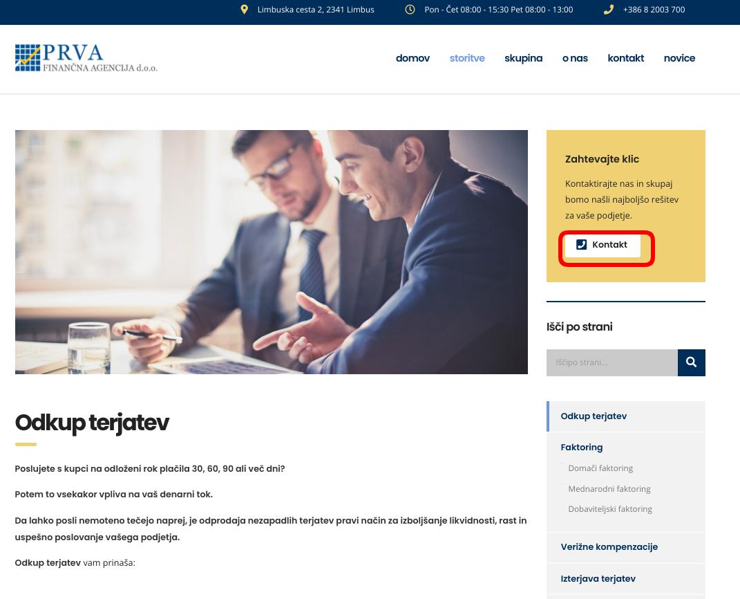 spletni marketing lead generation prva fina